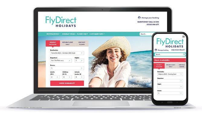 FlyDirect shows off her new colours