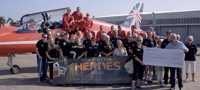 Holidays for Heroes Jersey Donation